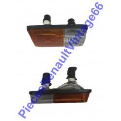 Jeux de 2 ensemble clignotant et veilleuse droit et gauche pour Renault 12 PH1