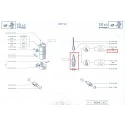 Bougie N7Y pour Reanult 17  et A310 4 cylindres