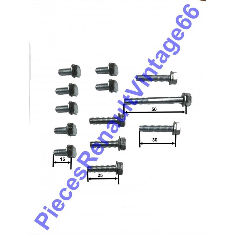Kit de vis de pompe à eau pour Renault 12, Renault 15