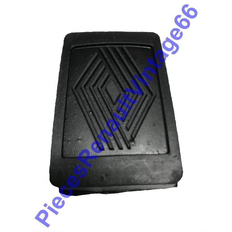 Caoutchouc de pédale d'embrayage ou de frein pour Renault 12, Renault 15, Renault 17 et A310 4 cylindres