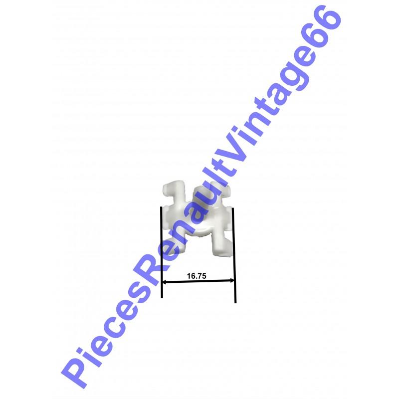 Agrafe pour baguette extérieure pour Renault 12