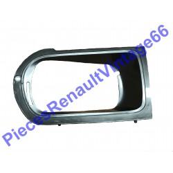 Entourage d'optique droit pour Renault 12 phase 2 gris anthracite