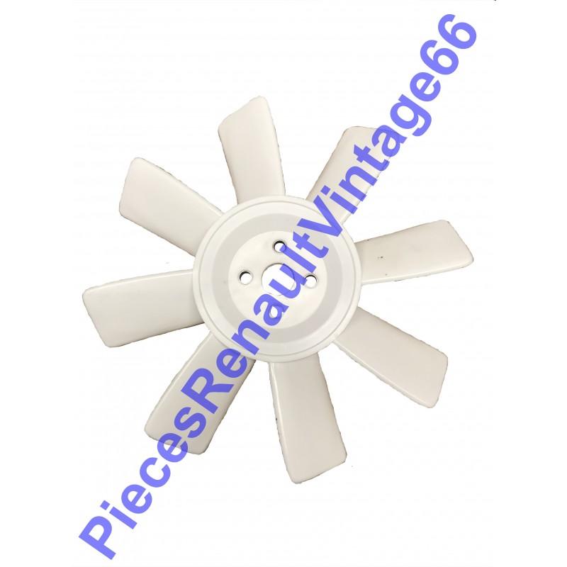 hélice de ventilateur en plastique en 8 palles pour Renault 12 et Renault 15
