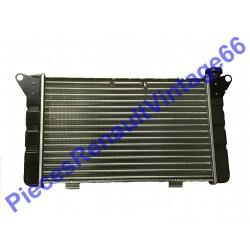 Radiateur de refroidissement pour Renault 12 ou Renault 15 Phase 1