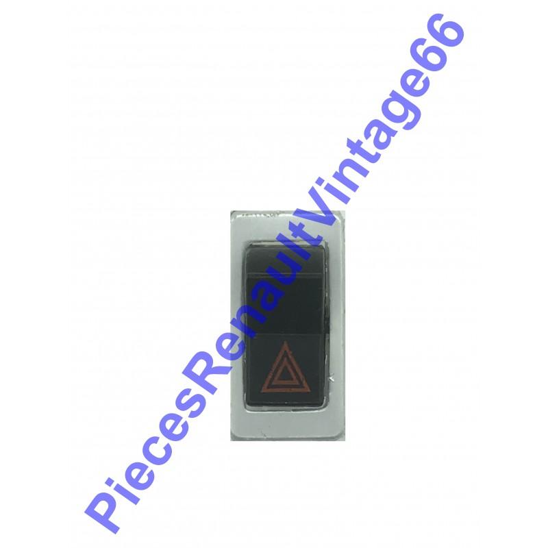 Interrupteur de feux de détresse pour Renault 12 Renault 15 ou Renault 17