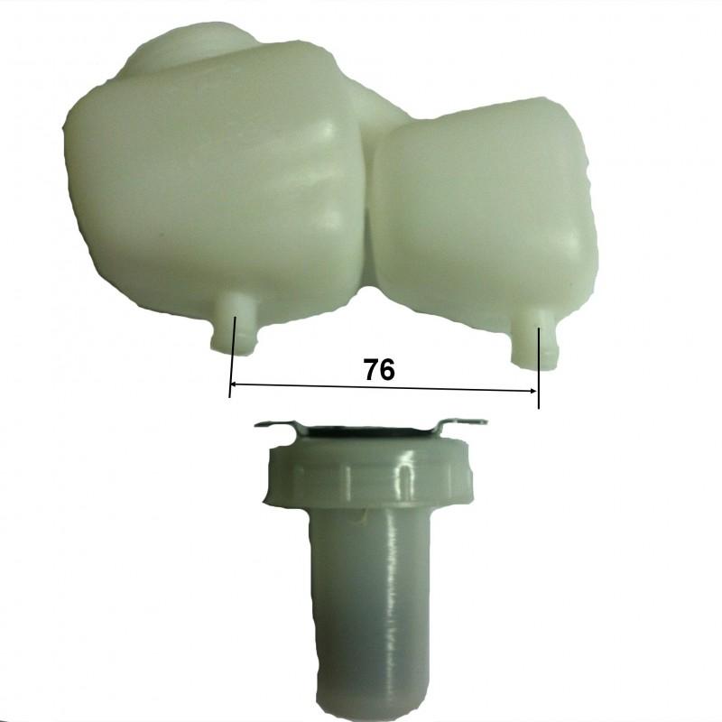 Réservoir de liquide de frein pour Renault 12 Renault 15 ou Renault 17 entraxe 76 mm