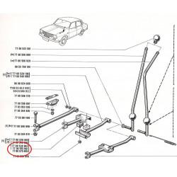Silentbloc de levier de vitesse pour Renault 12, Renault 15 et Renault 17 phase 1