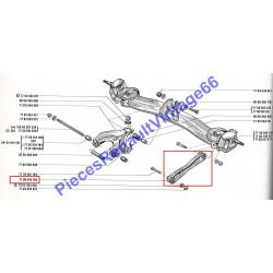 Bras latéral arrière pour renault 12 ou renault 15 ou renault 17