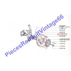 Disque de frein pour renault 12 ou renault 15 ou renault 17 et A310 4 Cylindres