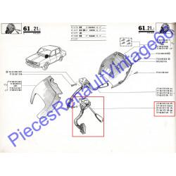 Commodo veilleuse code phare pour Renault 12  tous models