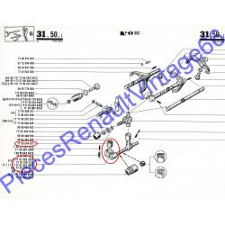 Rotule de sélecteur de boite de vitesse pour Renault 12, Renault 15 et Renault 17 tous models et A310 4 cylindres