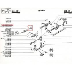 Pignon de tachymètre 13 dents pour Renault 12, Renault 15 et Renault 17