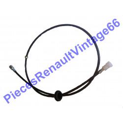 Câble de compteur nouveau model pour Renault 12, Renault 15 et Renault 17