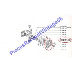 Moyeu de roue pour Renault 12 ou Renault 15