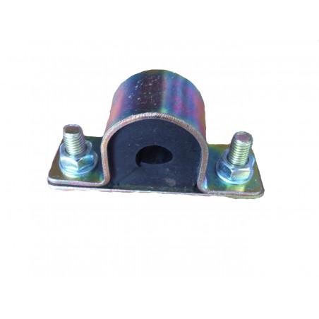Silentblocs de barre stabilisatrice diametre 15 mm avec cage pour Renault 12 ou Renault 15