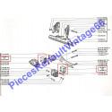 Silentbloc de boite de vitesse pour renault 12 ou renault 15 ou renault 17 pase 1