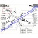 Kit de réparation crémaillère pour Renault 12, Renault 15 et Renault 17