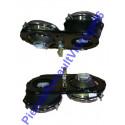 Lot de 4 optiques pour Renault 17 phase 1 tout model même gordini